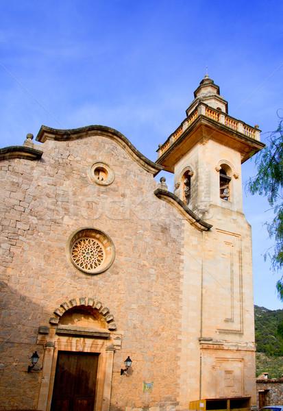 Church of Sant Bartolome in Valldemossa Majorca  Stock photo © lunamarina