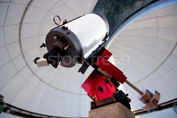Сток-фото: астрономический · телескопом · ночь · ночное · небо · небе