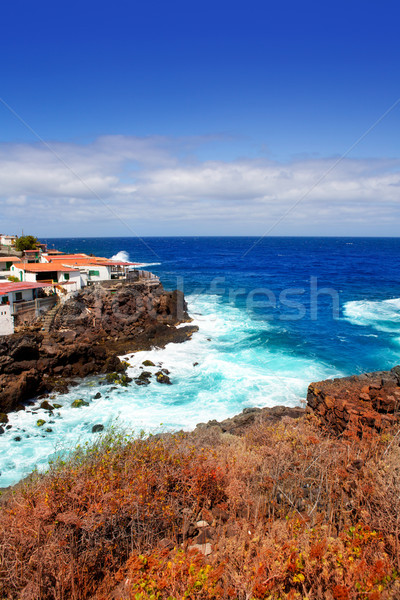 La Palma Santa cruz volcanic atlantic coast Stock photo © lunamarina