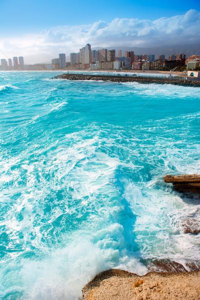 Бенидорм фото пляжей мира