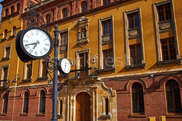 Leon Obispado facade in Plaza Regla square Spain Stock photo © lunamarina