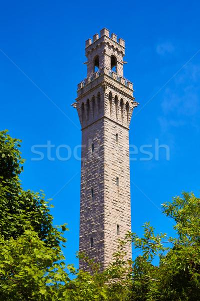 Foto d'archivio: Cape · cod · pellegrino · torre · Massachusetts · USA · città