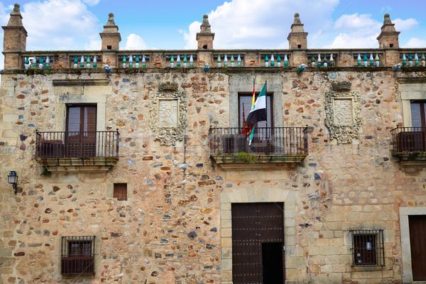 Müze İspanya Bina şehir sanat antika Stok fotoğraf © lunamarina
