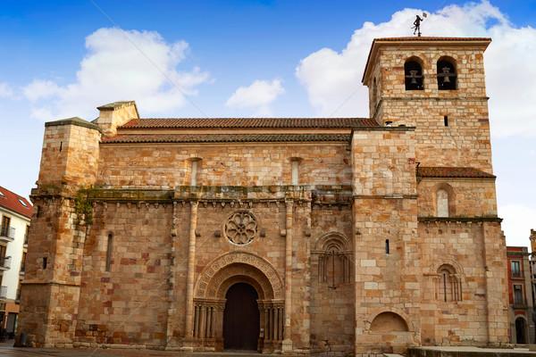 San juan igreja Espanha arquitetura férias religião Foto stock © lunamarina