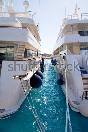 Luxo mallorca ilha mar verão oceano Foto stock © lunamarina