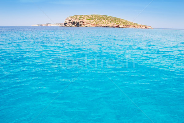 Ibiza Illa del Bosque island in San Antonio Stock photo © lunamarina