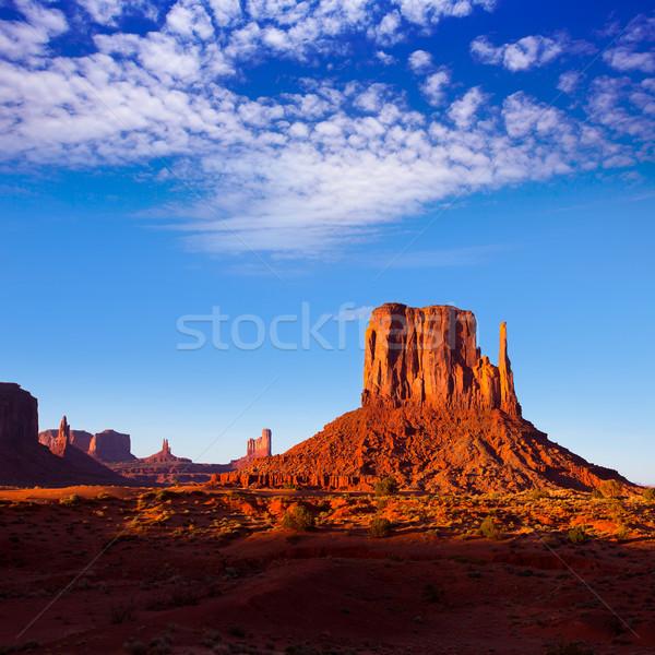 Völgy nyugat Utah park természet tájkép Stock fotó © lunamarina