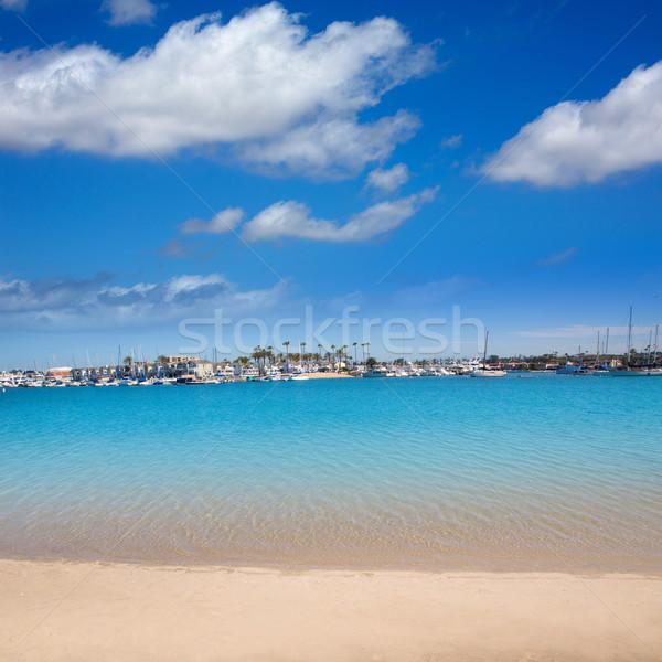 Califórnia península ilha praia EUA sol Foto stock © lunamarina