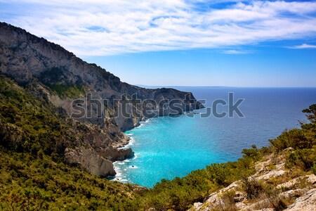 Stock photo: Ibiza Cap Llentrisca view from Sa Pedrera in Balearic