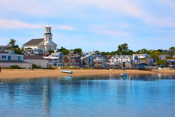 Zdjęcia stock: Cape · cod · plaży · Massachusetts · USA · wody · budynku