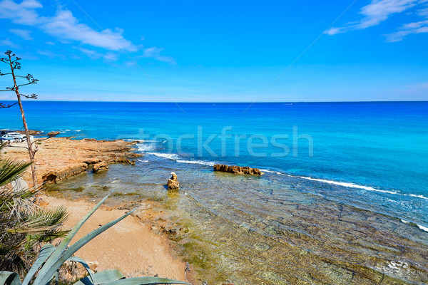 Foto stock: Praia · água · natureza · paisagem · luz · mar