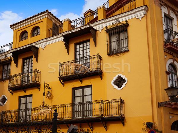 Испания здании город стены путешествия архитектура Сток-фото © lunamarina
