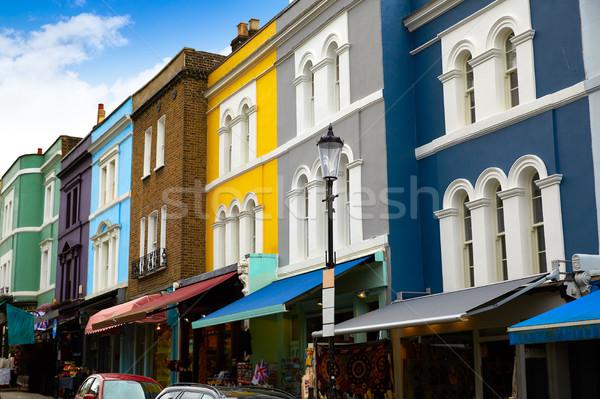 London Portobello road Market vintage magnifying in UK Stock photo © lunamarina