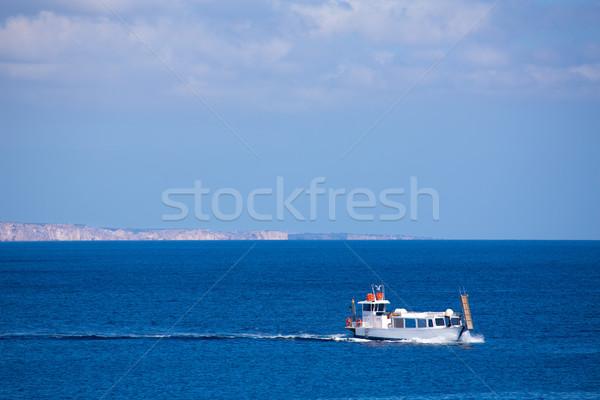 Stock photo: Menorca Son Saura beach in Ciutadella turquoise Balearic