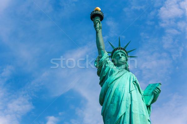 свободы статуя Нью-Йорк американский символ США Сток-фото © lunamarina