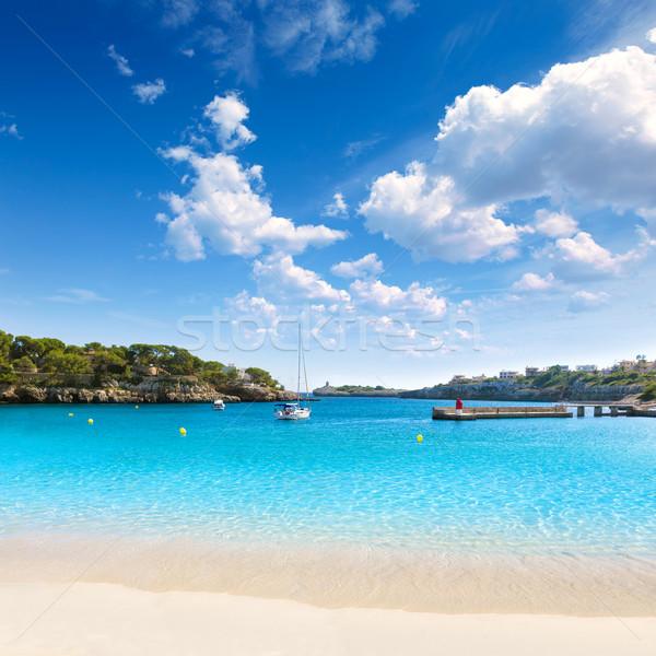 Praia mallorca ilha Espanha paisagem verão Foto stock © lunamarina