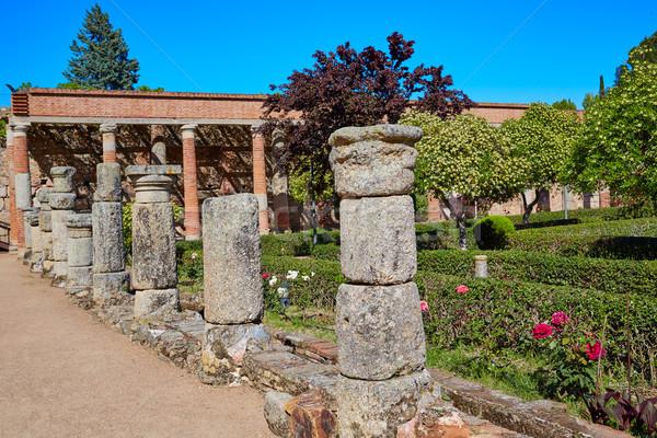 Roman amfiteatr Hiszpania la budynku miasta Zdjęcia stock © lunamarina