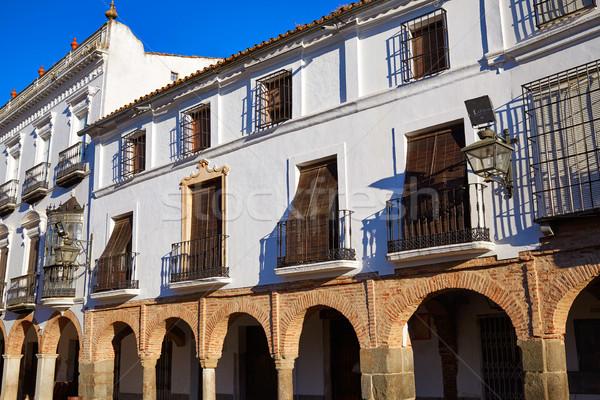 España naturaleza azul edificios religión Foto stock © lunamarina