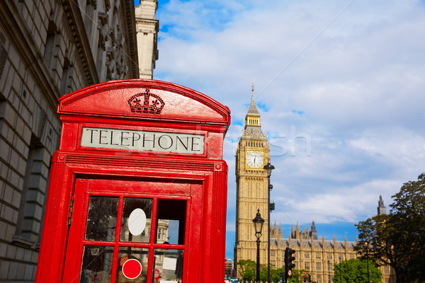 Big Ben horloge tour Londres Angleterre ville Photo stock © lunamarina