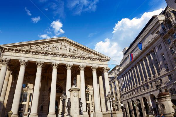 London királyi csere épület pénzügyi negyed égbolt Stock fotó © lunamarina