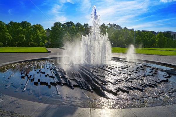 ベルリン 大聖堂 噴水 ドイツ 水 建物 ストックフォト © lunamarina