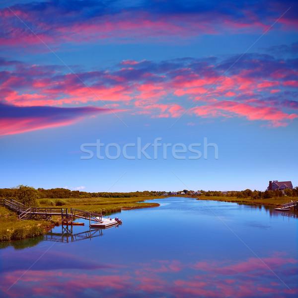 Cape Cod Bumps river Massachusetts Stock photo © lunamarina