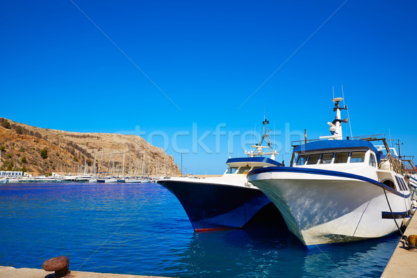 Xabia Javea port marina Mediterranean Spain Stock photo © lunamarina