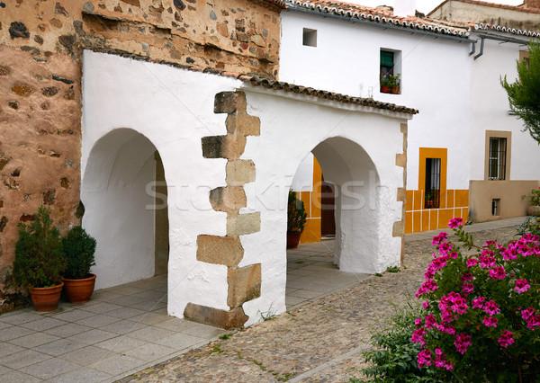 Caceres juderia Ermita saint Antonio in Spain Stock photo © lunamarina