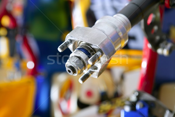 Car transmission macro detail  Stock photo © lunamarina