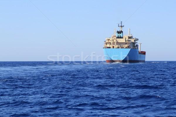 Chemische vervoer boot offshore zeilen vracht Stockfoto © lunamarina