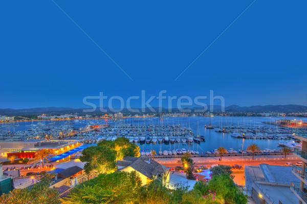 Ibiza San Antonio Abad Sant Antoni Portmany sunset Stock photo © lunamarina