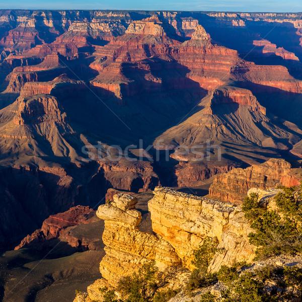 Arizona pôr do sol Grand Canyon parque ponto EUA Foto stock © lunamarina