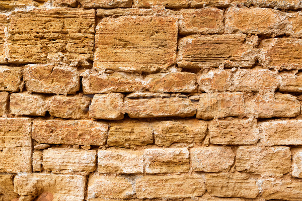 Cidade velha alvenaria parede textura mallorca ilha Foto stock © lunamarina
