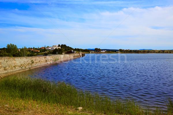 Romeinse Spanje la natuur veld Blauw Stockfoto © lunamarina