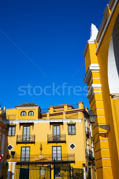 Seville la Macarena barrio street in Sevilla Stock photo © lunamarina