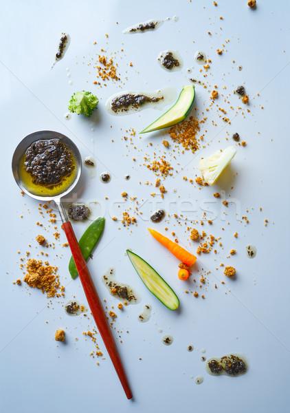 abstract gastronomy vanguard concept molecular cuisine Stock photo © lunamarina