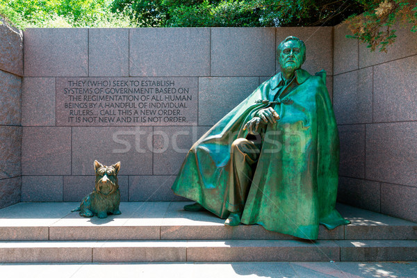 Franklin Delano Roosevelt Memorial Washington Stock photo © lunamarina