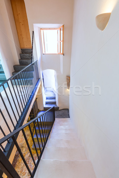 Majorca Balearic indoor house in Balearic Mediterranean style Stock photo © lunamarina