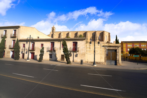 Valencia Trinidad monastery at Alboraya street Stock photo © lunamarina
