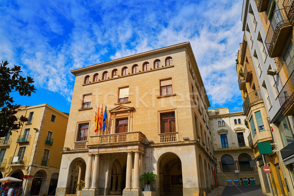 Ajuntament de Figueres city hall in Catalonia Stock photo © lunamarina