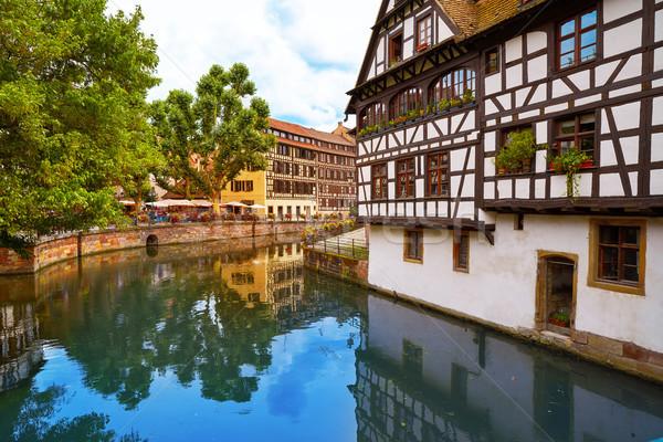 Strasbourg la Petite France in Alsace Stock photo © lunamarina