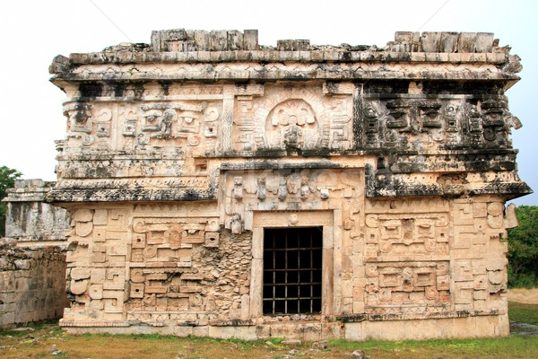 Chichen Itza suora Messico costruzione muro mondo Foto d'archivio © lunamarina