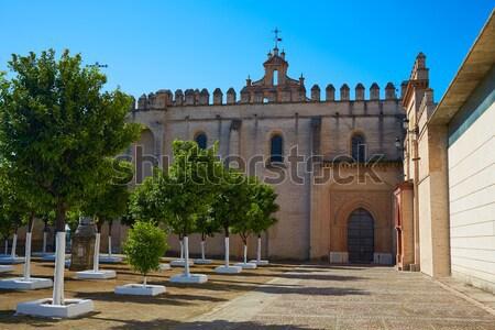 Gran Canaria Teror church Canary islands Stock photo © lunamarina