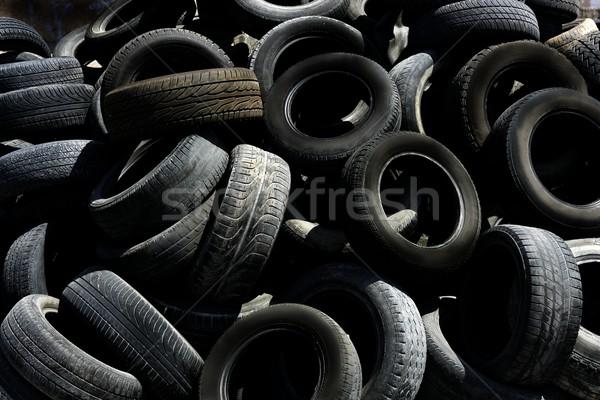 Fekete textúra szennyezés ökológia autó ipar Stock fotó © lunamarina