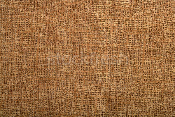 Stock photo: Background pattern of fabric brown leather