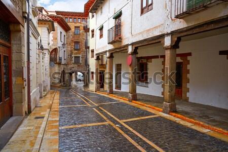 Javea Xabia old town streets in Alicante Spain Stock photo © lunamarina