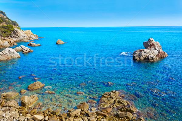 Costa Brava Lloret de Mar beach Camins de Ronda Stock photo © lunamarina