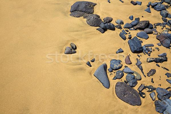 Praia canárias Espanha natureza paisagem mar Foto stock © lunamarina