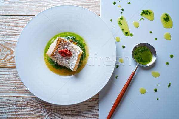 Kurutulmuş domates gıda arka plan mutfak restoran tablo Stok fotoğraf © lunamarina