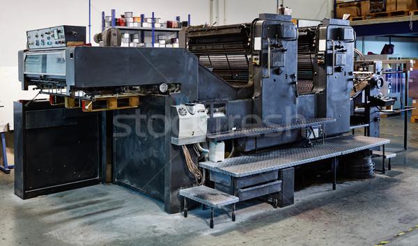 プリンタ インク マシン 印刷 工場 ビジネス ストックフォト © lunamarina